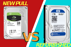 Diferencias entre HDDs new pull vs. refurbished
